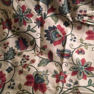 Vintage Richloom Platinum Collection Fabric 2 yard
